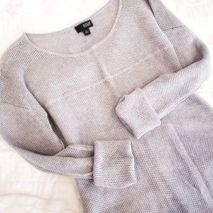 Soft Heather gray sweater